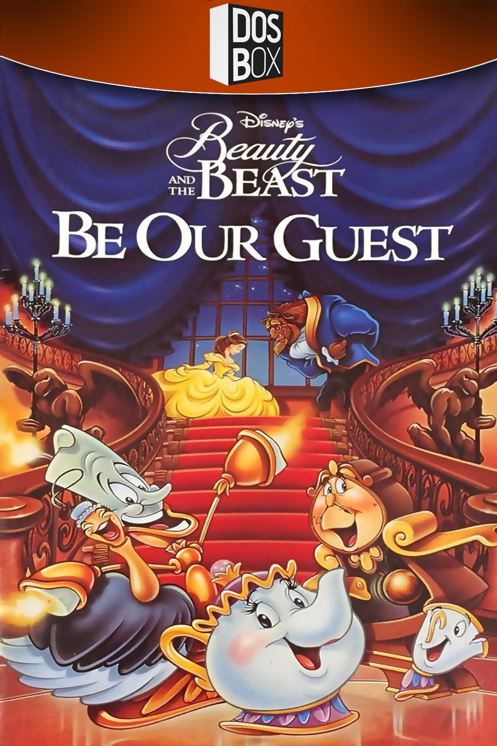 DISNEYS BEAUTY THE BEAST BE OUR GUEST