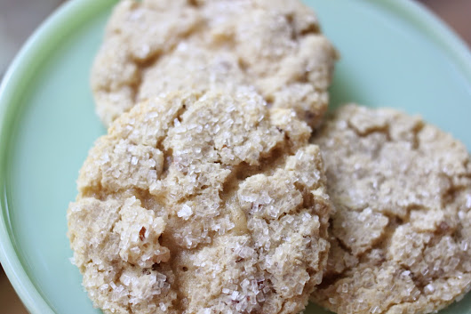 Chewy Nutty Cookies