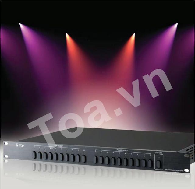 Bộ Lựa Chọn Vùng Loa SS-2010 - Âm thanh TOA chính hãng