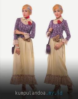 Model Baju Muslim Lebaran Terbaru 2017