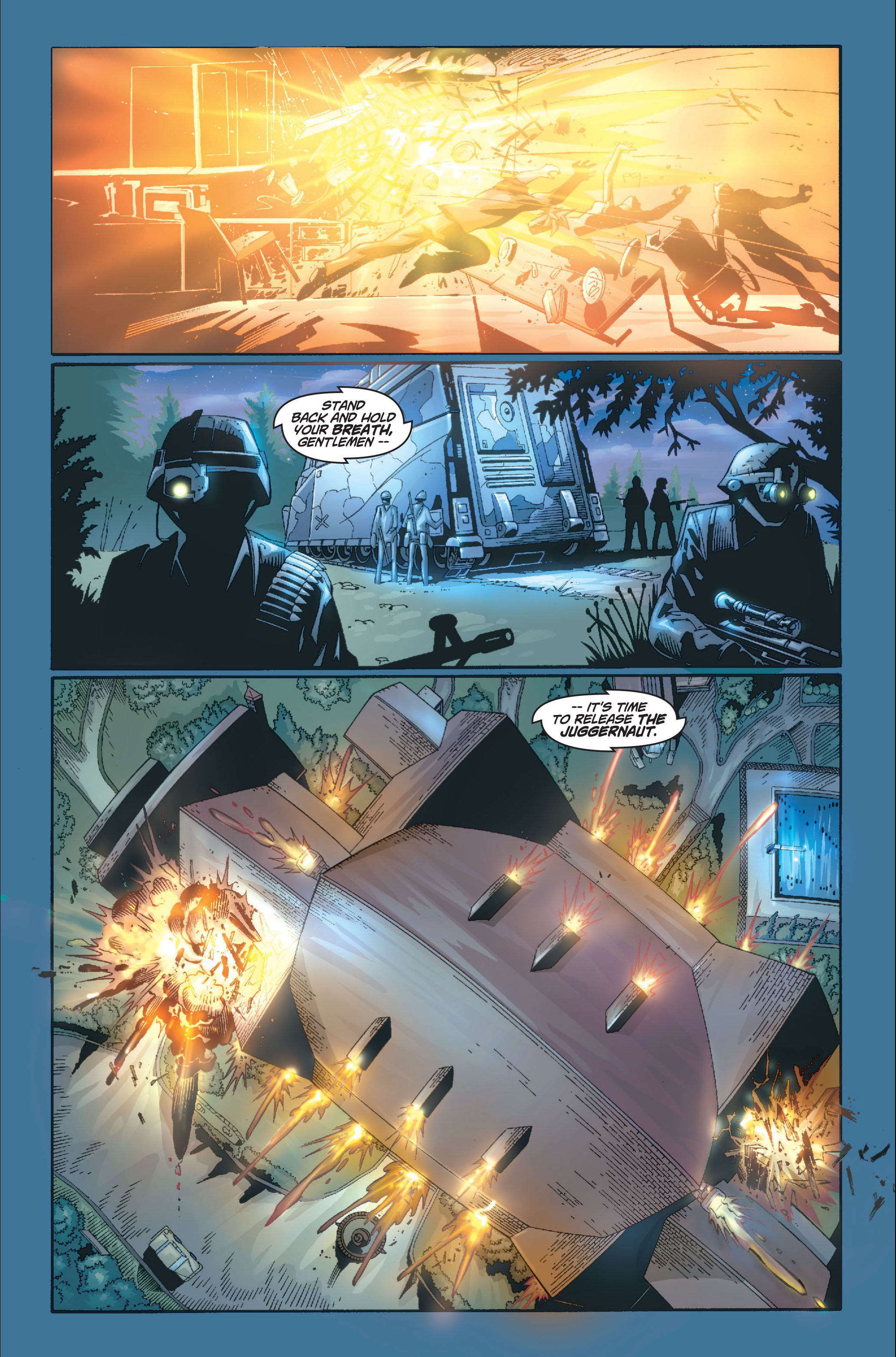 Read online Ultimate X-Men comic -  Issue #8 - 15