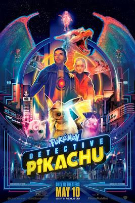 Pokemon Detective Pikachu Movie Poster 16