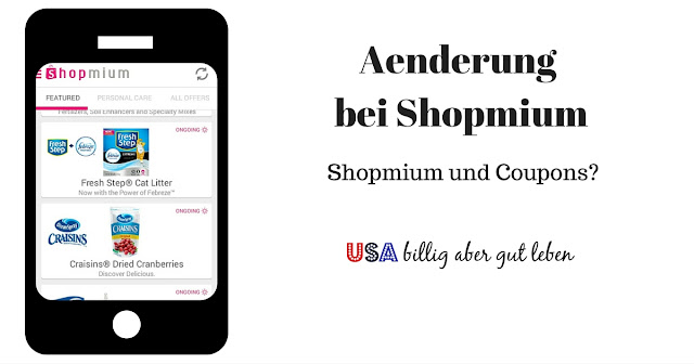 shopmium und Coupons