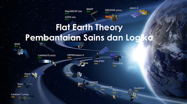 Flat Earth Theory Pembantaian Sains dan Logika