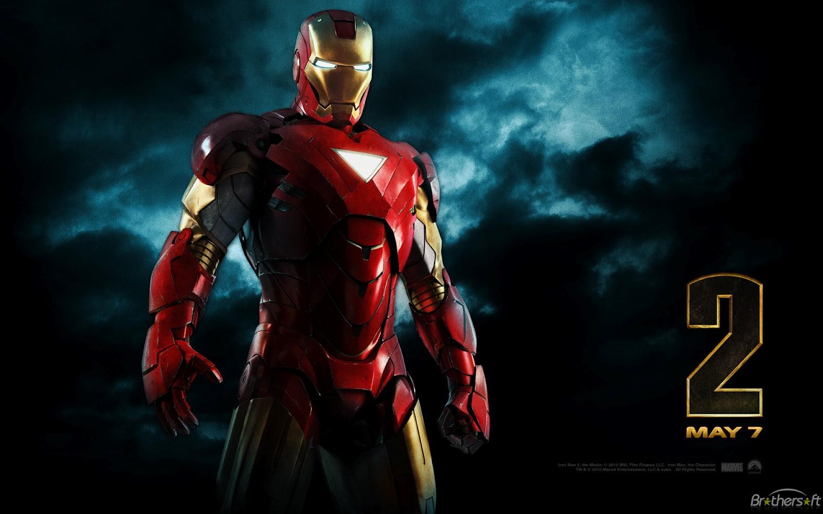 Iron Man Cartoons Wallpapers Wallpapers