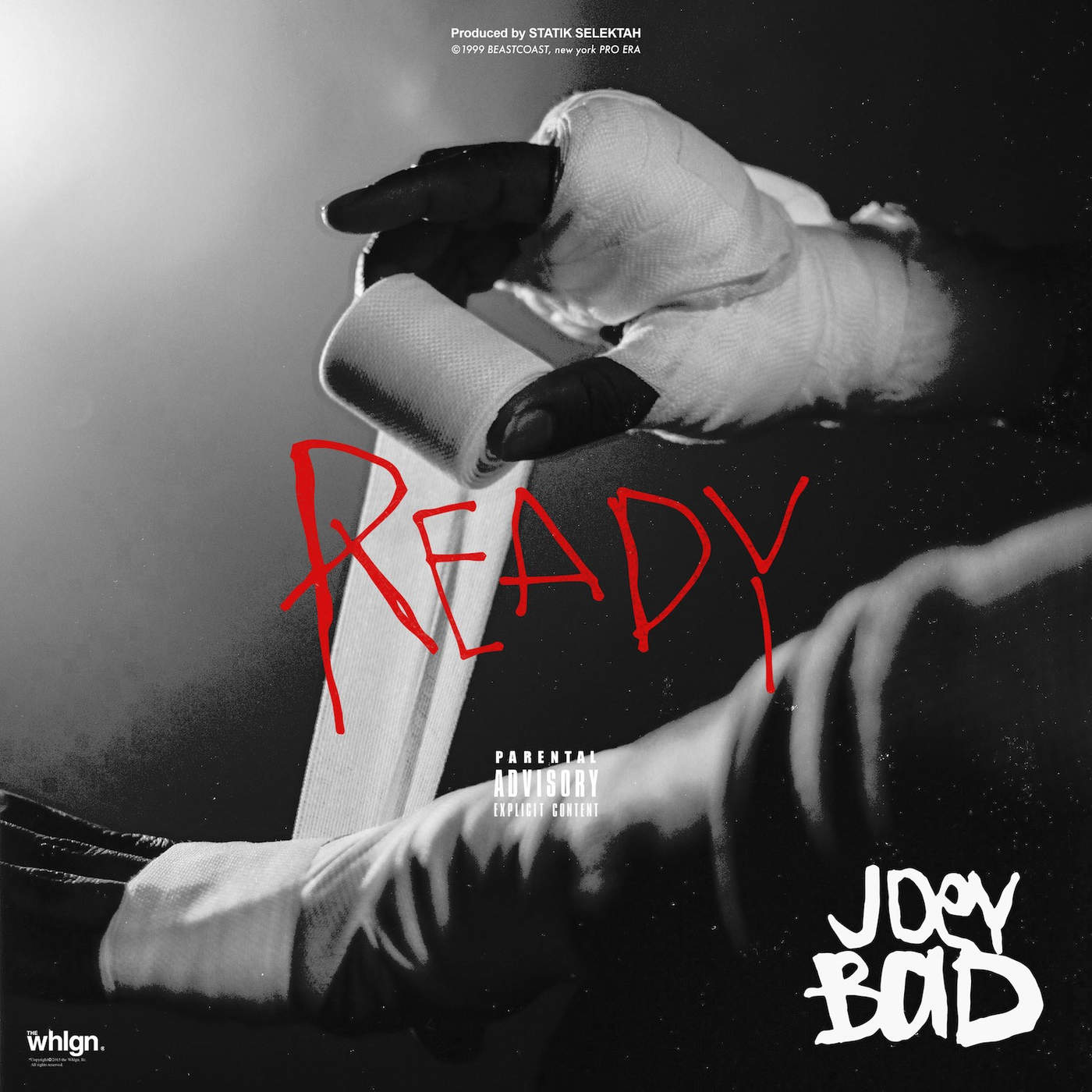 Joey Bada$$ - Ready - Single Cover