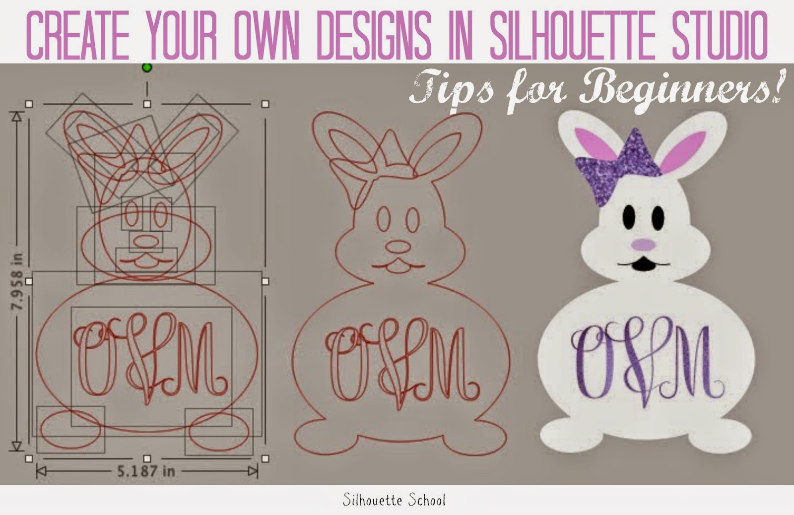 Silhouette Studio, tips, beginners, designing your own shapes