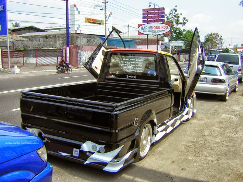 Kumpulan Foto Modifikasi Mobil Kijang Pick Up Terbaru ...