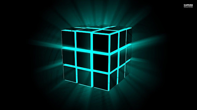 Neon Cubes HD Wallpapers - HD Wallpapers Inn