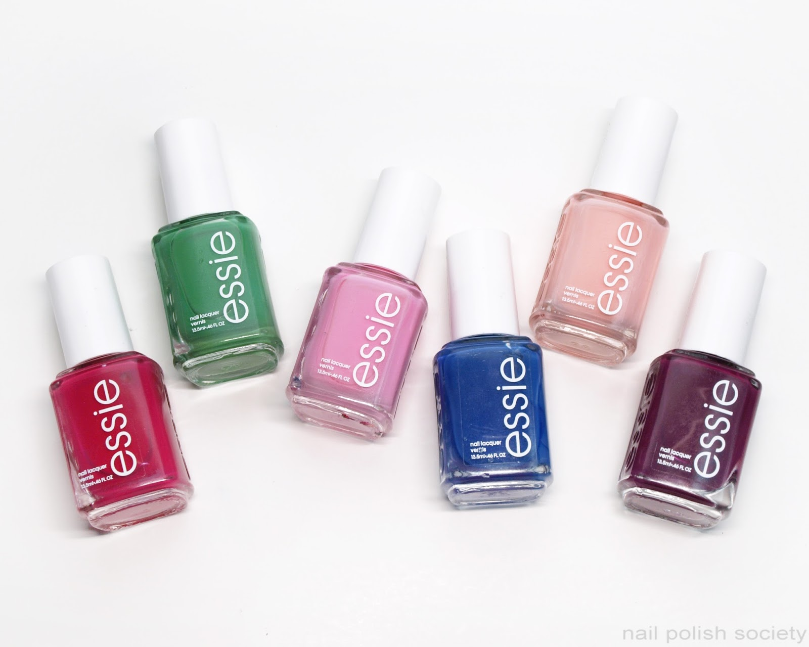 Nail Polish Society: Essie Spring 2017 Collection