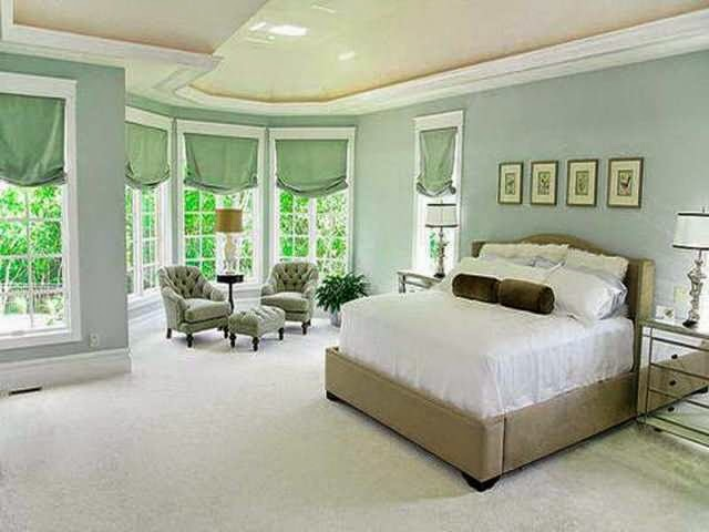 captivating warm relaxing bedroom colors | Relaxing Interior Paint Colors