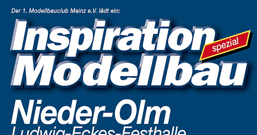 Inspration Modellbau in Mainz, am 1.+2. Oktober...