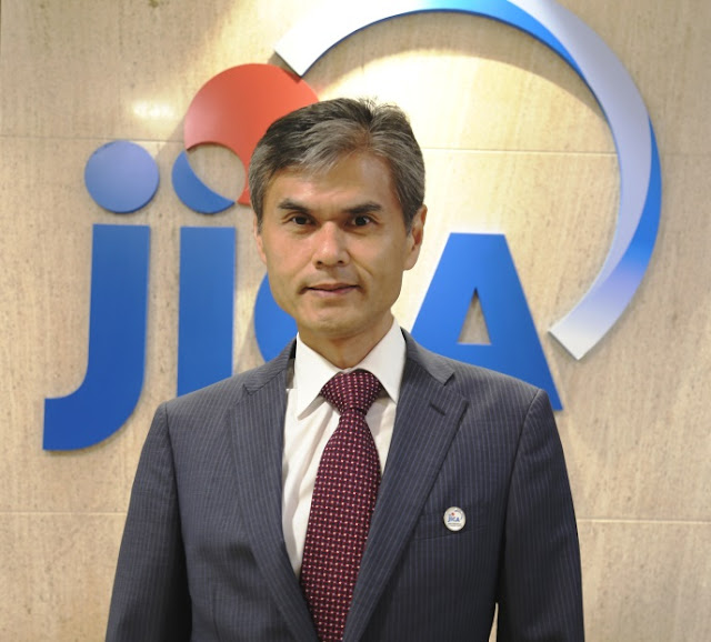 Mr. Katsuo Matsumoto joins as the new Chief Representative of JICA India Office