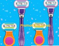 Logo Vinci gratis kit Gillette Venus con Desideri Magazine