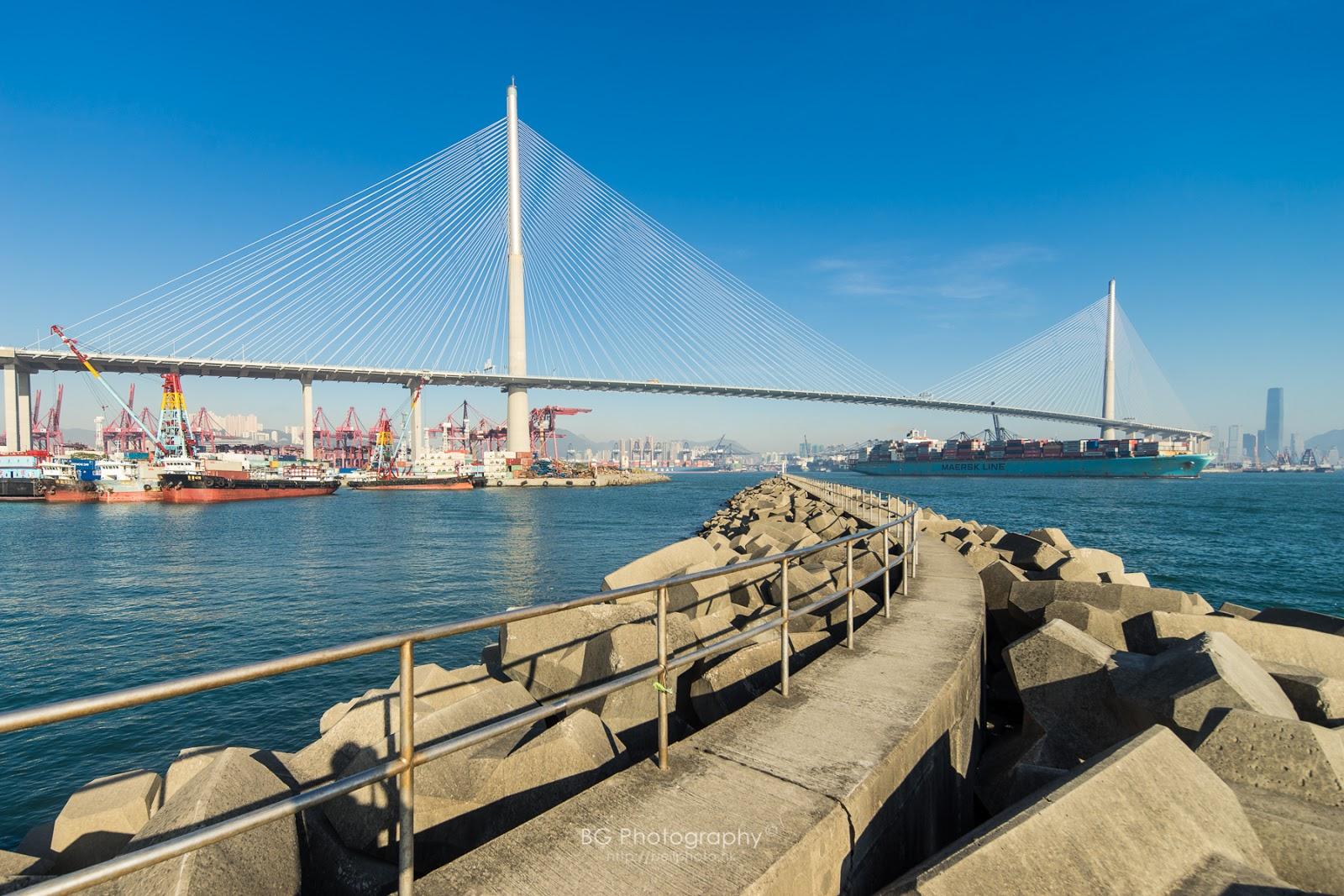[香港] 攝遊青衣南 (海線) - 昂船洲大橋 - blog.bellphoto.hk