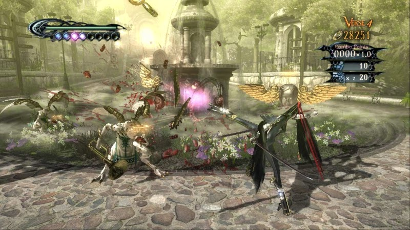 video game Bayonetta images