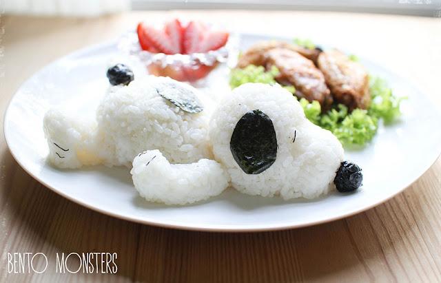 Mamãe criativa cria adoráveis refeições para seus filhos inspirada em desenhos animados