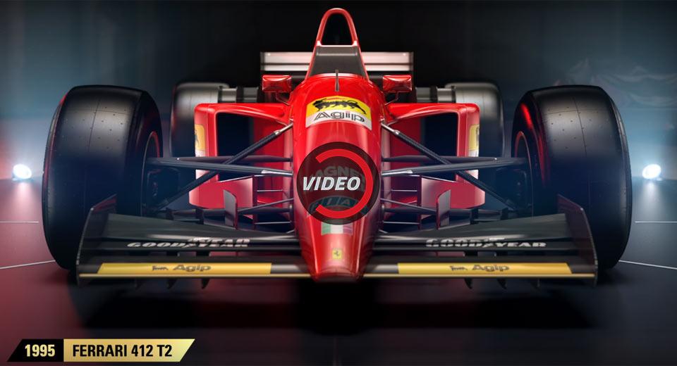 Four Classic Ferraris Revealed For F1 2017