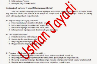 Download Gratis Prediksi Soal US Bahasa Indonesia SD Download Latihan Soal USBN Bahasa Indonesia SD/MI 2020