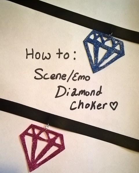 How to make a Scene/Emo Diamond Choker PLUS UPDATES