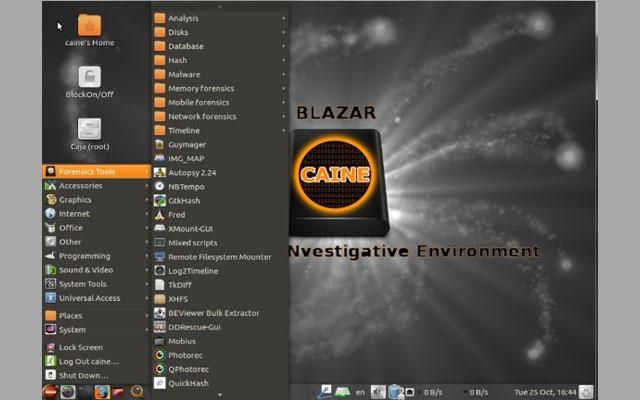 حمّل نسختك من نظام CAINE 9 الخاص بالتحقيق الجنائي المجهز بجميع أدوات الحماية لنظام لينكس وويندوز