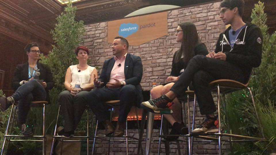 Tigh Loughhead on Pardot Trailblazer Spotlight Panel: Top Insights from B2B Marketing Experts