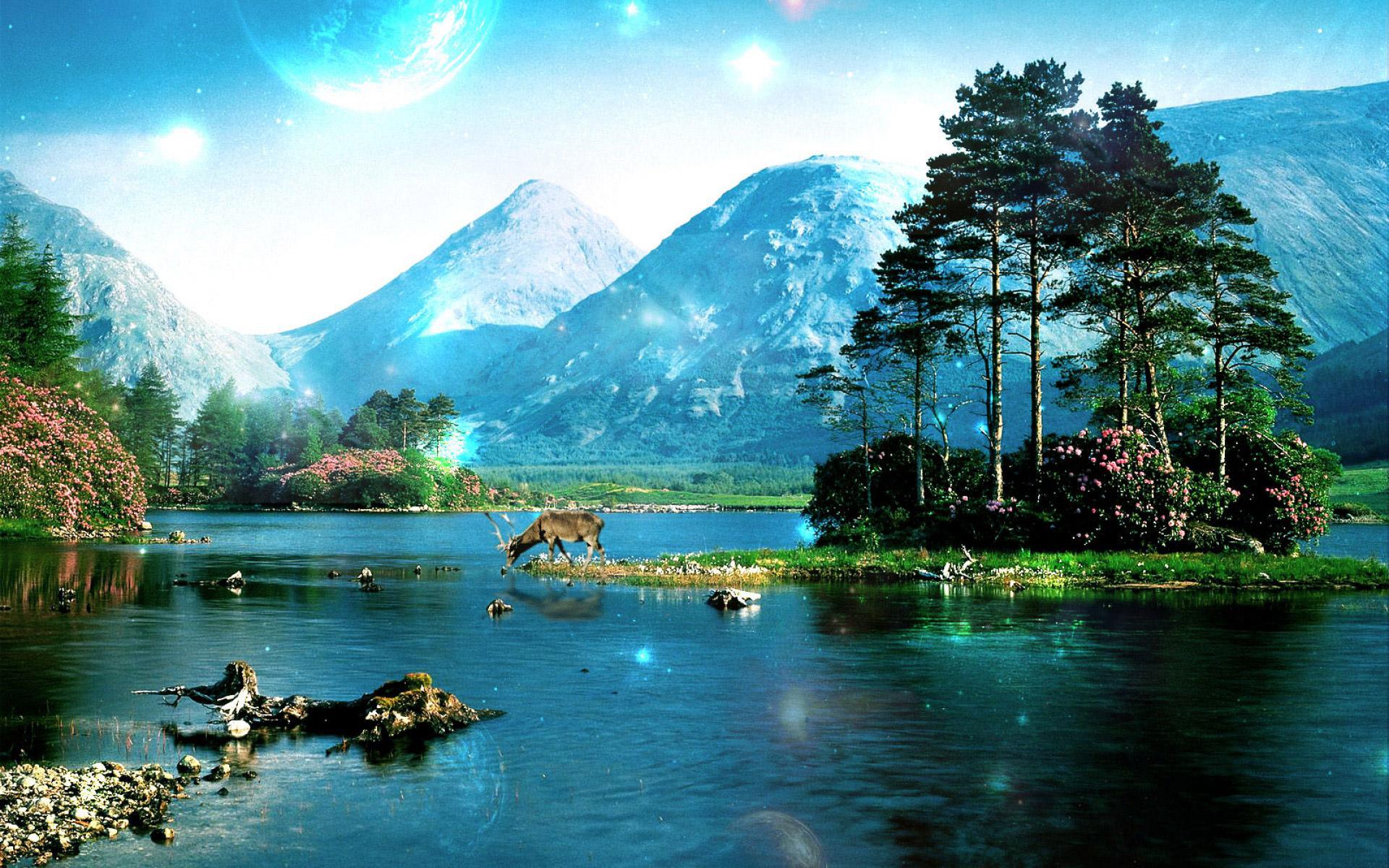 Incrível Cenário Da Natureza