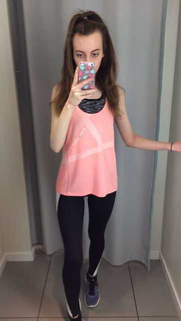 OOTD wear all Pink Soda Sports