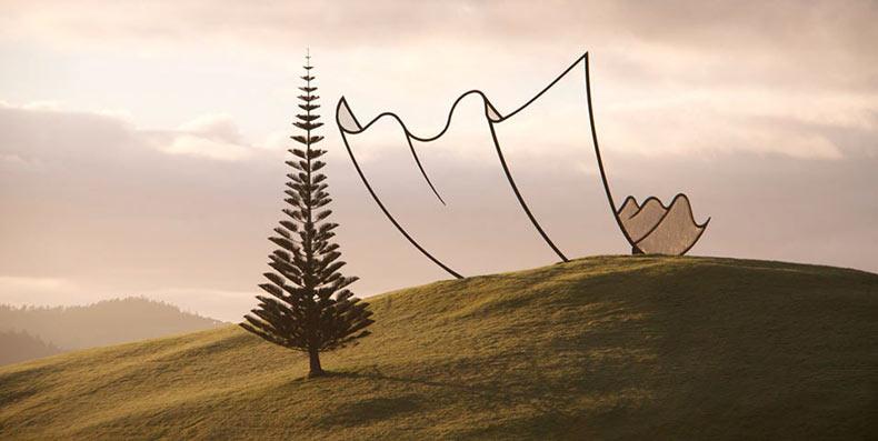 El parque de esculturas Gibbs Farm | Nueva Zelanda