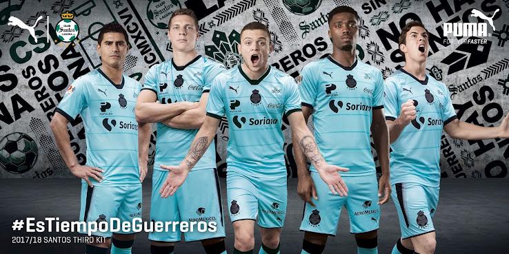 d2cb83044 Puma Santos Laguna 2017-18 Third Kit Released - Footy Headlines
