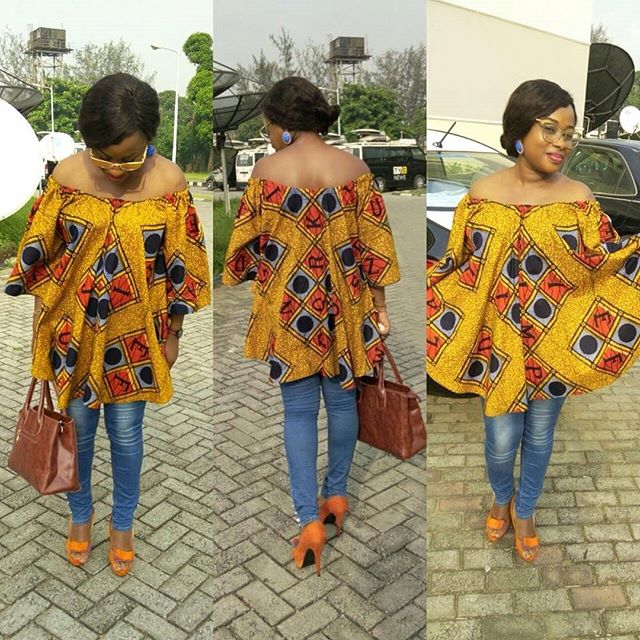 Ladies, Get Chic in Latest Ankara Top Styles in Vogue - Zaineey\'s Blog