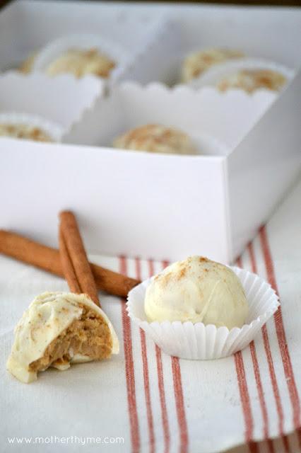 Apple Cinnamon Truffles