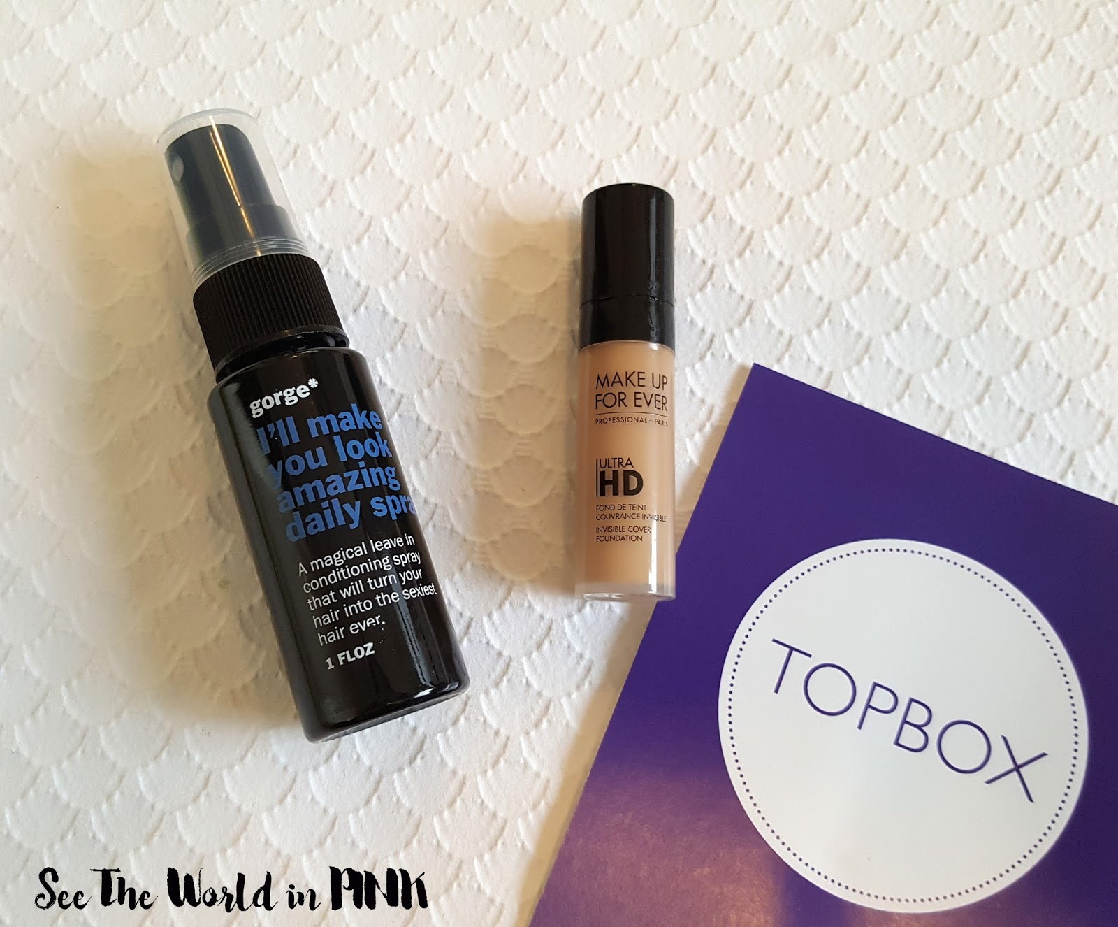 September 2016 Topbox - Review and Unboxing