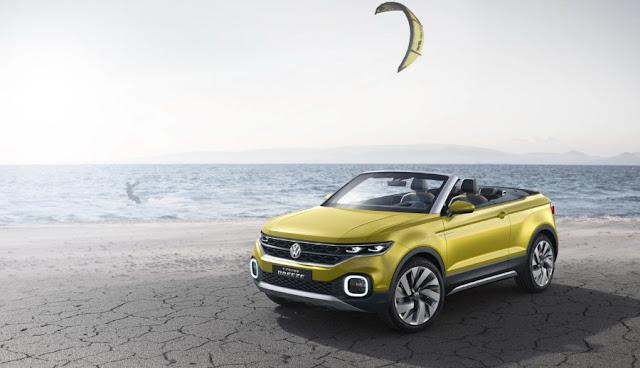 Volkswagen T-Cross Breeze Cabrio the first of 3 new SUVs