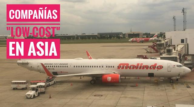 Volar en Compañías LowCost en Asia: Airasia o Malindo Air