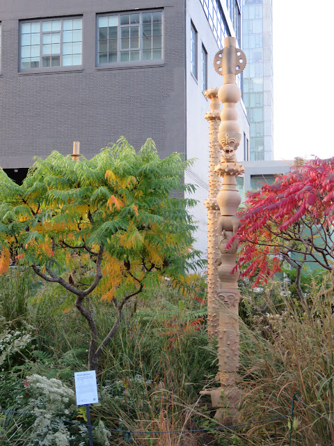 Art Installations on the High Line in New York City