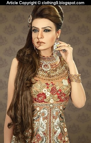 Pakistani Bridal Wear Designs 2015-16