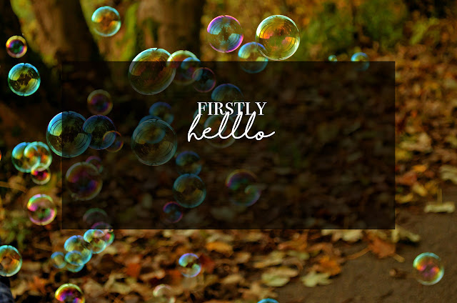 ◈ Firstly, Hello.