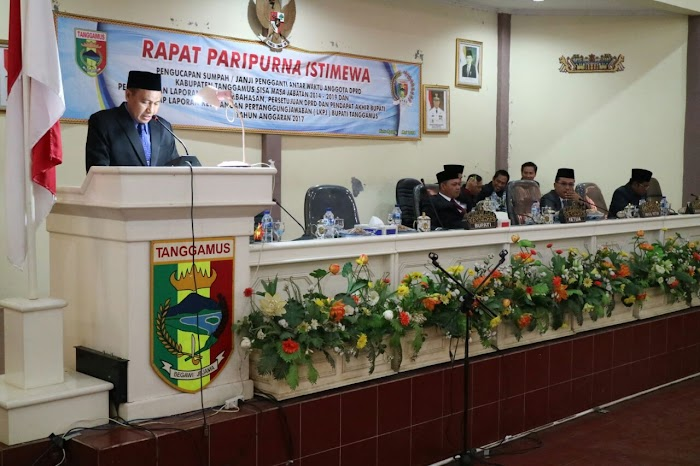 DPRD Tanggamus Gelar Rapat Paripurna