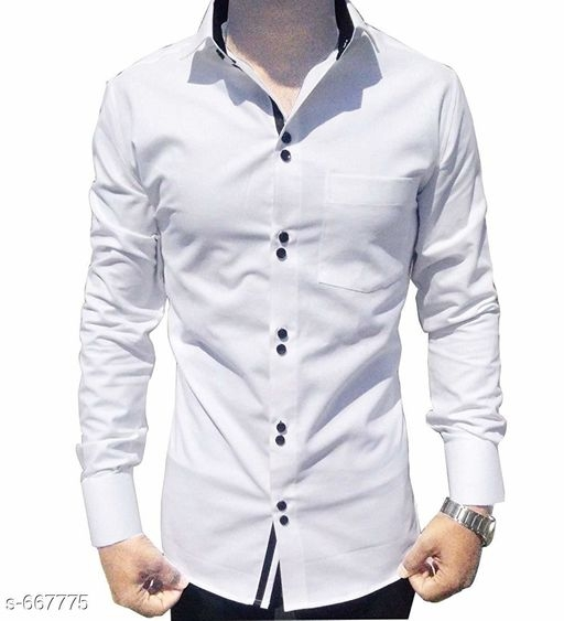 Men's Standard Slim Fit Cotton Shirts Vol 1 [S-667775]