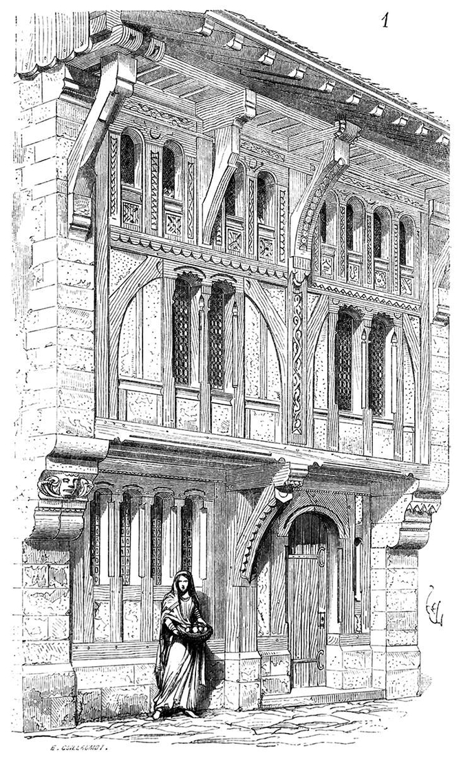 02-Timber-Framed-House-Eugène-Viollet-le-Duc-Gothic-Drawings-from-an-Architect-in-18th-Century-www-designstack-co