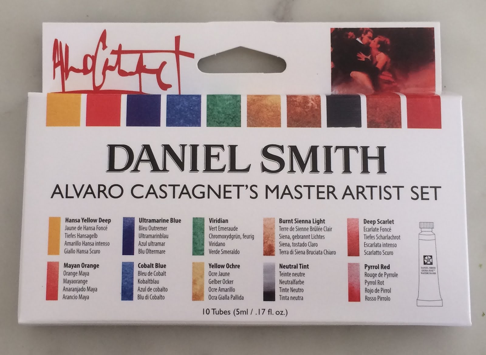 Jane Blundell Artist Another Daniel Smith 5ml Set