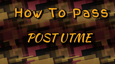 How to pass post utme