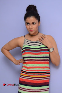 Actress Mannara Chopra Latest Pictures at Jakkanna Movie Platinum Disc Function 0002.JPG