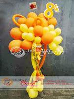 balon ucapan selamat, rangkaian balon ulang tahun, baby born gift, toko bunga di jakarta, bunga ulang tahun anak laki-laki