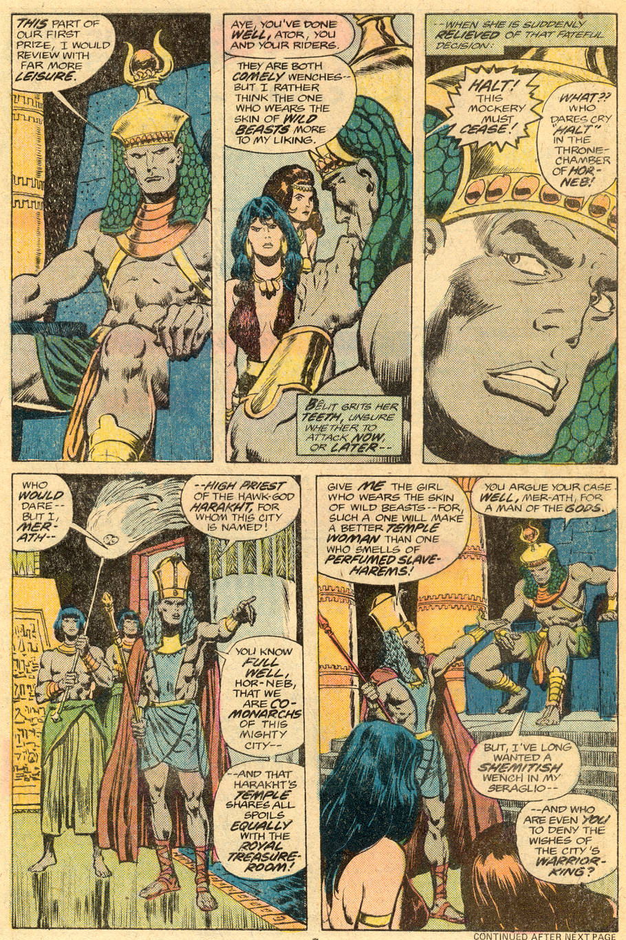 Conan the Barbarian (1970) Issue #76 #88 - English 6