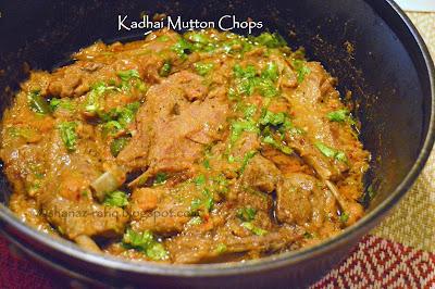 Kadhai Mutton Chops