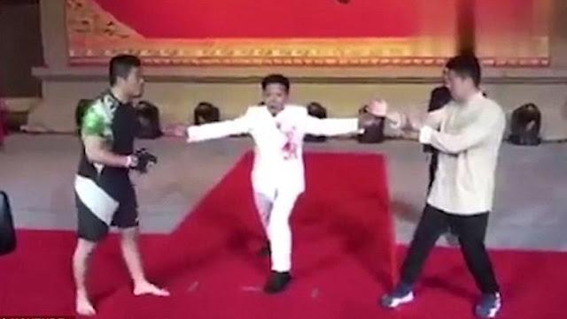 MMA Tantang Ahli Kung Fu Wing Chun