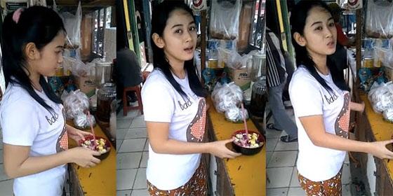 Video Penjual Es Campur Yang Cantik Ini Hebohkan Netizen
