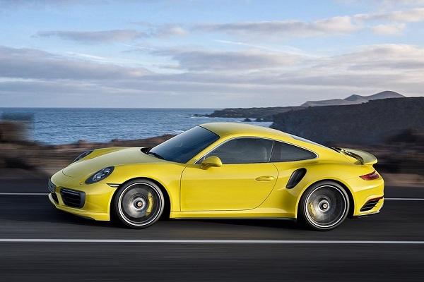 Ficha Técnica: Porsche 911 Turbo S Coupé (2016)